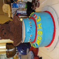 1St Birthday Cake   This was an attempt for my husband & myself to make our son's 1st birthday cake. 2009