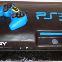 Batman Ps3 Cake Combined themes for an indecisive boy. TFL