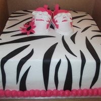 Zebra Print Shower