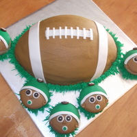 Football Themed Shower