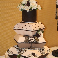 Weddings Magazine Pillow Stack Made for a photo shoot for Weddings Magazine! Pillow Cakes are bunches of fun!