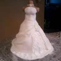 First Time First time...I deff have room for improvment...but I am happy looks very close to the brides dress :-)