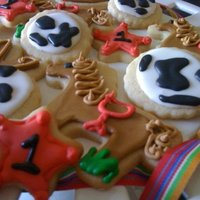 Logan's Cowboy Cookies These were for my nephew's first birthday party! :)