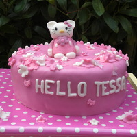 Hello Kitty For Hello Tessa  Tessa really wanted a Hello Kitty cake for her birthday. Her mom ordered one with me and we kept it a surprise until her birthday. Whenever...