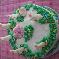 Easter Cake buttercream