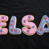 Elsa Cookie Sugar cookie, RI