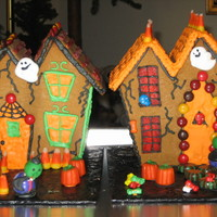 Halloween House Gingerbread House