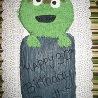 Mr. Grouch's 30Th Birthday PERFECT for MY HUBBY!