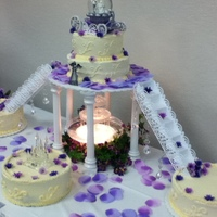 Buttercream Cake Contest Lavendar Wedding