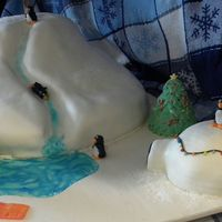 Penguin Fun This is inspired by many cakes here on cc! All cake & mmf.