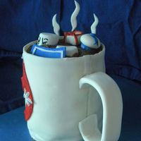Something Strange In Your Beverage- Threadcakes Entry  This is my first time entering the Threadcakes contest- I had a great time making it! Mostly mmf, the handle and the ghost on the side are...