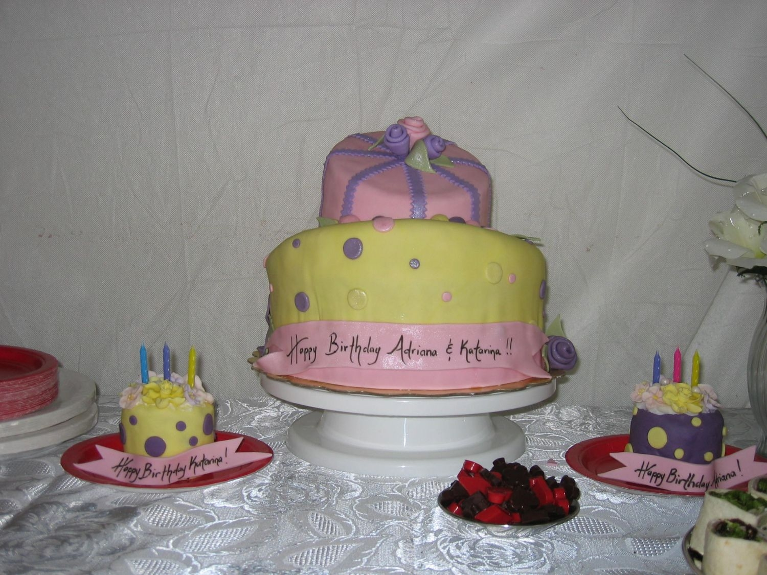 Whimsy Cake-Side View