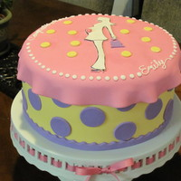 Polka Dot Baby Girl Shower