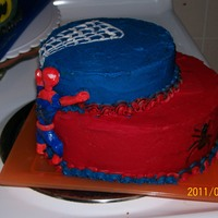 Spiderman 3Rd Bday got plenty of ideas from here at cc thanks to all just startedmaking fondant figures so any advice or comments would be very helpful