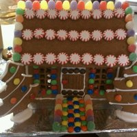 My First Homemade Gingerbread House After two not-so-great gingerbread recipes, the third worked just like it should.