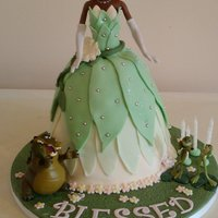 Princess And The Frog My fifth princess and the frog cake.