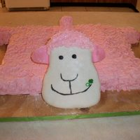 Pillow Pet  this is my daughters pillow pet cake for her 5th birthday. made to look like her pillow pet. it was almost exactly the same size as hers....