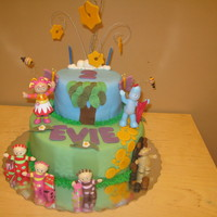 In The Night Garden  I made this cake for my daughter's second birthday. Found the design online and thought it was adorable and do-able for me since I...