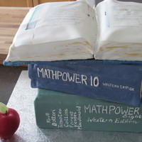 Math Teacher Retirement Cake