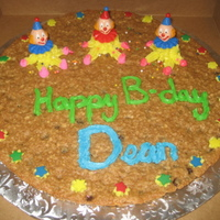 Cookie Birthday Cake For my dad