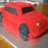 3D Car Cake I made this cake for my dad's car show.