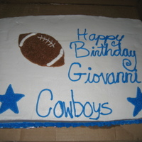 Cowboys I made this for my boyfriends uncle for his birthday