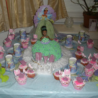 Princess And The Frog Bday Cake