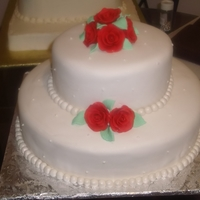Yummy And Beautifully Executed This beautiful, delicious,delightful wedding cake made a lot of people happy.
