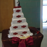 A Beautiful Wedding Cake