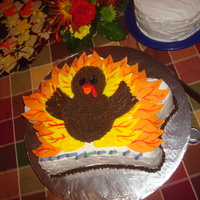 Turkey Cake I made this cake for my cousin. His birthday usually falls on Thanksgiving or the day after. I think the new tradition is for him to get a...