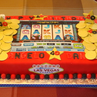 Vegas Birthday Cake Vegas Birthday Cake