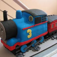 Thomas Cake By Kristia Perez-Rubio Baking Studio