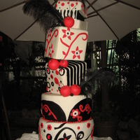5 Footer Debut Cake By Kristia Perez-Rubio Baking Studio inspired by Colette Peter's cake