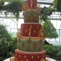 5-Foot Wedding Cake By Kristia Perez-Rubio Baking Studio