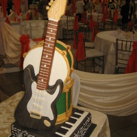 Guitar Cake By Kristia Perez-Rubio Baking Studio