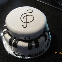 Music Cake I made this for my daughter's best friends' 16th birthday. She plays the piano and flute in marching band. She asked for...