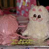 Catting Around Cake This was my daughter's 8th birthday cake as well as the first time I've ever picked up a piping bag. I was so nervous! I found a...