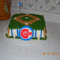 Chicago Cubs Mother's Day Cake Also stole the idea for this cake from another user on here!!
