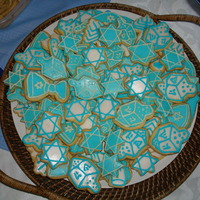 Hannukah Sugar Cookies