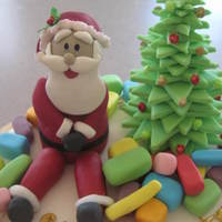 Santa this was a charrity cake for hospos.