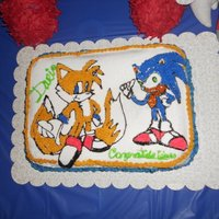 Sonic & Tale THIS IS FOR MY SON 9 B-DAY