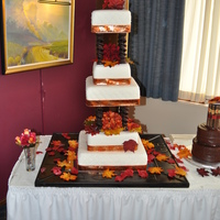 Fall Wedding Cake What happens when a cake artist gets married? He stresses over making the PERFECT cake! My amazing wife and I got married on 10-10-10 and...
