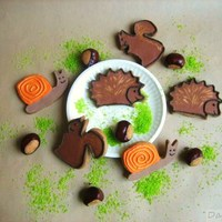 Fall Cookies! Cookies decorated with Royal Icing. TFL!
