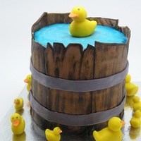 Bucket Of Ducks inspired by other cakes on cake central