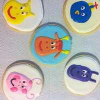 Backyardigans Cookies for a little girl who loves The Backyardigans
