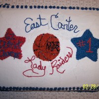 Go Raiders I DID THIS FOR MY NIECE'S BASKETBALL TEAM'S CELEBRATION DINNER.