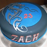Tribal Dragon Bday Cake