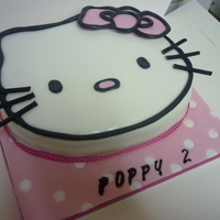 Hello Kitty Cake loved doing this cake and think it turned out good. thanks for looking x