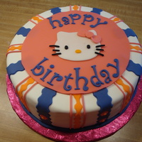 Hello Kitty   WASC cake decorated all in MMF