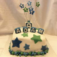 Star's Birthday Cake This was a cake that was inspired by dky. It was for a very adorable 1 year old. I loved the design, it was fun to do. I also included a...